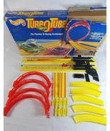 Mattel 9650 Hot Wheels Turbo Tube Race Track Vintage 1991 Incomplete  - $24.74