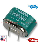 Varta 29-7235 Nimh Pcb Mount Memory Protection Battery 3.6V 150Mah FAST ... - $18.32