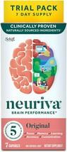 Schiff Neuriva Brain Performance Original 7 Capsules EXP 2022 - $12.38