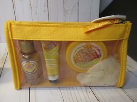 G3 The Body Shop Satsuma Clementine Shower Gel Hand Cream 4 Piece Gift Set New - $24.74