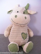 Plush COW dan dee collectors choice ribbed chenille baby toy stuffed ani... - $19.80
