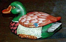 Duck Figurine (Jewelry Box ) AA20-2060 Vintage image 3