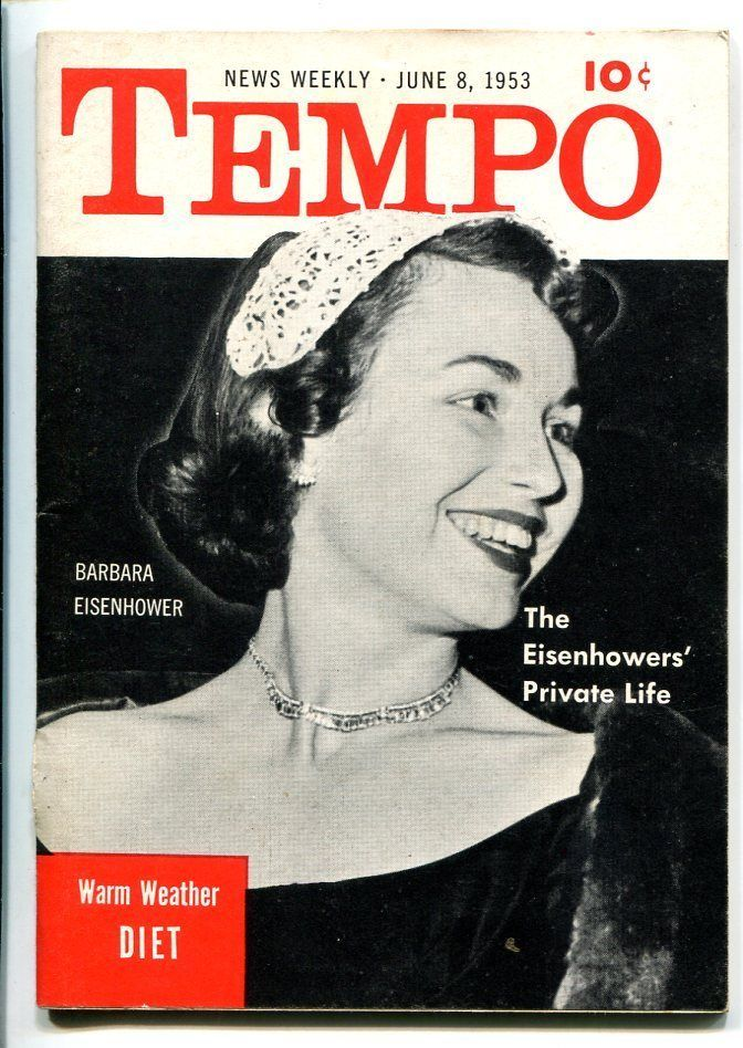 Primary image for TEMPO #1 06/19531ST ISSUE-EISENHOWERS-PEGGIE CASTLE-SOUTHERN STATES-fn