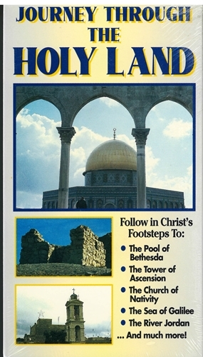 Journey through the holy land vhs 001