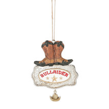 Bull Rider Boot Ornament - $12.95