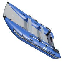 BRIS 11 ft Inflatable Catamaran Inflatable Boat Dinghy Mini Cat Boat Blue  image 6