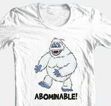 Abominable Snowman T-shirt retro Christmas TV show 80s 100% cotton white tee image 1