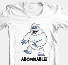 Abominable Snowman T-shirt retro Christmas TV show 80's 100% cotton white tee image 1