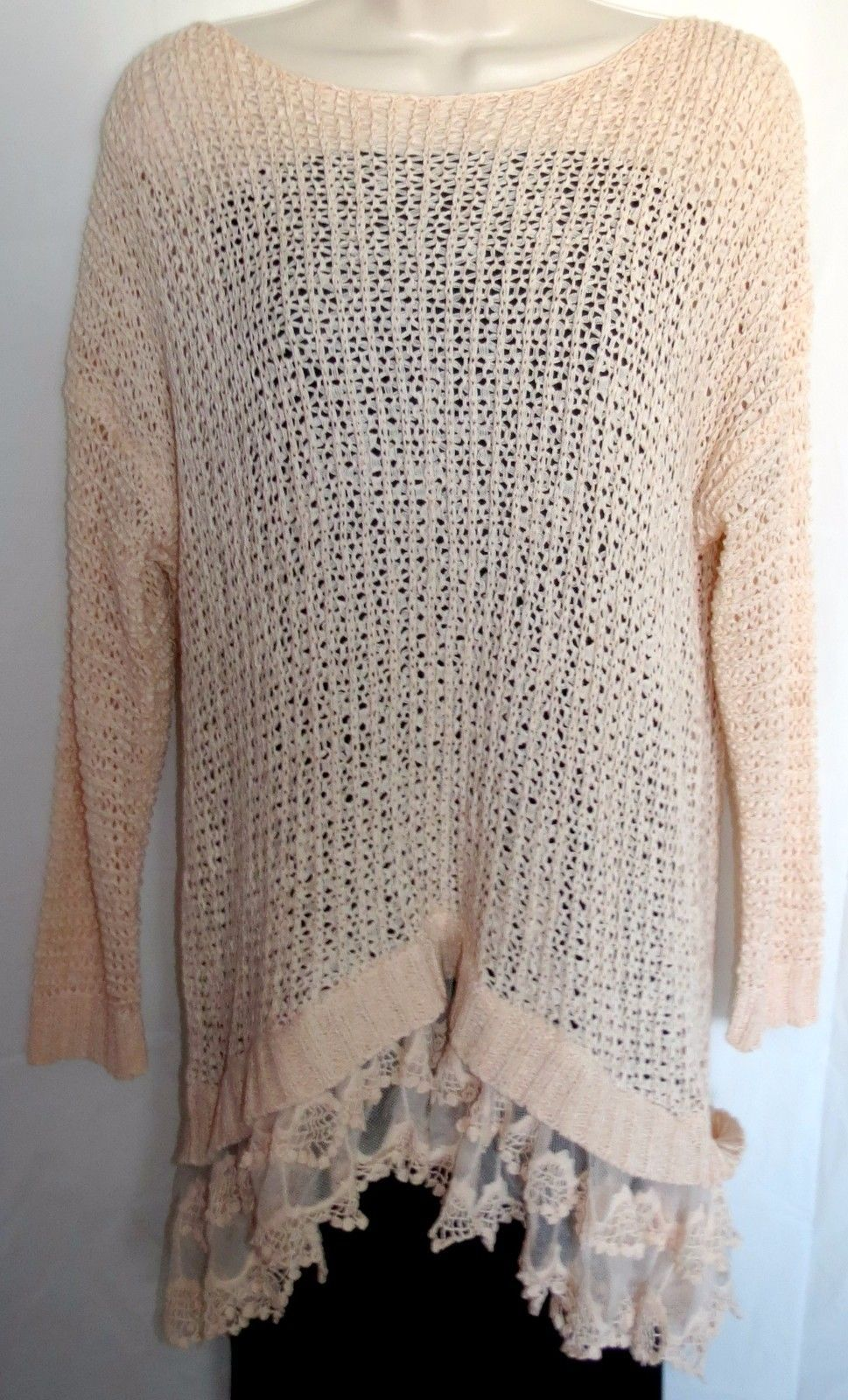 4cd16419c4 ENTRO Anthropologie Women s Pink Open Weave and 37 similar items