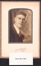 Edmund Keene Swan Cabinet Photo - Portland, Maine - $17.50