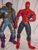 2004 Marvel Spider-Man Movie & 2005 Marvel Green Green Goblin Set of 2 Figures - $79.00