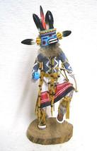 "Navajo Hopi 19.5"" ANTELOPE DANCER Kachina Doll Katsina Sculpture - Sammie Walker - $309.00"