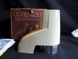 Vintage Osterizer Blender Icer Attachment Avocado Green Model 435 Made i... - $4.90