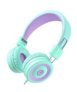 Criacr Kids Headphones, Noise Reduction School Wired Headphone, Lightwei... - $16.23