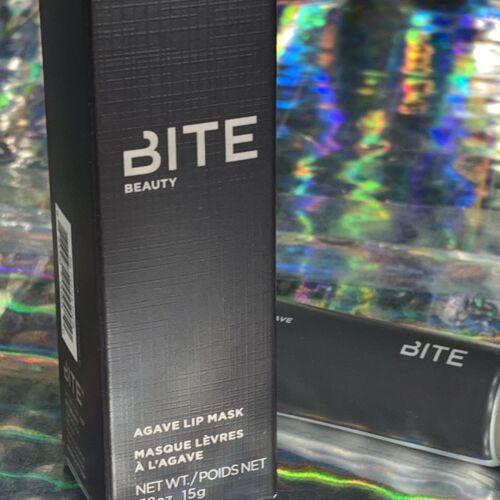 Bite Beauty Agave Lip Mask MAPLE Sheer Rust Tint 15g RESVERATROL NIB FULL Size