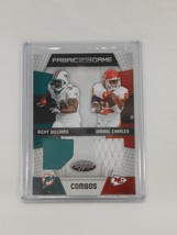 Ricky Williams Jamaal Charles 2010 Panini Fabric of the Game Combos Jers... - $29.69