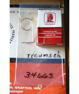 Tecumseh OEM Speed Control Spring *OEM* pt # 34663 *NEW* OD - $2.23