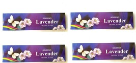 Lavender 3x Golden's Incense Sticks  22gm pack Fragrance Aroma Scent Aga... - $8.20