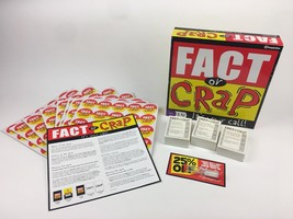 Fact or Crap Board Game Imagination Brand Pieces Still Wrapped New Age 1... - $14.95