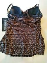 Miracle Suit Bronze Brown Myrra Swim Top Size 10 image 2