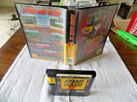 Road Rash II game cartridge w/box (Sega Genesis, 1992) - $14.95