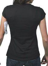Cardboard Robot Femmes Noir Skate Ou Diarrhea Skateboard T-Shirt Nwt image 3