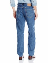 Levi's Strauss 550 Men's Relaxed Fit Straight Leg Jean Medium Stonewash 550-4891 image 2