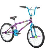 "20"" Mongoose Fling Girls' Freestyle Bike, Purple - $275.99"