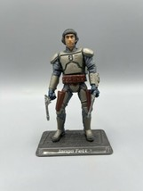 """Star Wars Jango Fett Slave 1 Pilot 3.75"""" Figure 2002 Quick Draw Saga AOTC #47 - $11.26"""