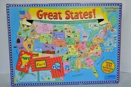 Great States! US Trivia Board Game American Landmarks Locations Capitals... - $8.90