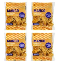 Natural Dried Mango Slices Unsweetened Dehidrated 4 Pack Spices of the World - $29.99