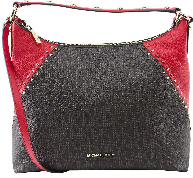 f891385c05c43d NWT Michael Kors Aria Signature Shoulder Bag and 50 similar items