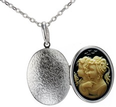 Sister Locket Family Best Friend Necklace Photo Pendant Fashion Jewelry ... - $43.82