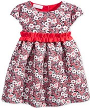 First Impressions Baby Girls' Floral-Print Party Dress, Size 3-6 Months - $13.85