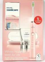 Philips Sonicare Diamond Clean Pink Edition 5 Brushing Modes Sonic Tooth... - $91.99