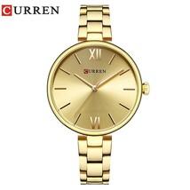 CURREN Women Watch Fashion Luxury Watch Reloj Mujer Stainless Steel  Female Cloc - $35.20