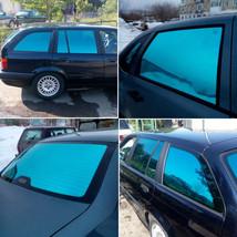 AuMoHall 0.5m*3m Blue Car Side Window Foils Solar Protection Auto Window... - $13.69