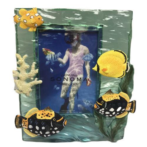 "Deep Sea Underwater Ocean Scuba Diving Summer Fish Picture Photo Frame 3.5 x 5"" - $39.99"