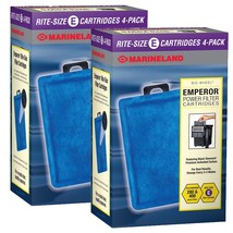 Marineland Rite-Size Cartridge Refills,2 packs of 4 - $29.95