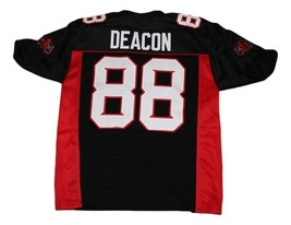 Deacon #88 Mean Machine New Men Football Jersey Black Any Size image 5
