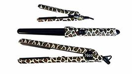 Neo Complete Full Set W/Hair Straightener + 25-18mm Curling Iron + Mini ... - $105.73