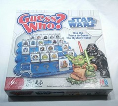 Guess Who? Star Wars Edition 2008 Memory Game by Hasbro 100% Complete MB... - $14.52