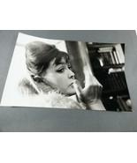 Russian 1965 Poet Bella Achmadulina black & white  photograph press photo - $34.65