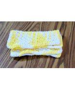 Yellow white dishcloth  2 thumbtall