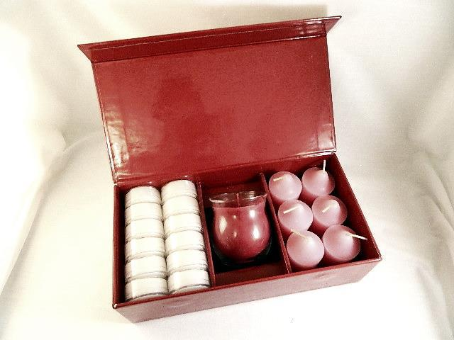 "PartyLite ""Velvet Rose"" Gift Set - Brand New In Box!"