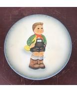 Bertha Hummel Statuette Plate First Annual Schmid 1984 Seventy Fifth Bir... - $14.03