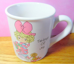 1994 Precious Moments coffee mug.  Tidings of Joy. Christmas mug, Precious Momen - $6.50