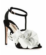 Sophia Webster Jumbo Lilico Suede Heeled Sandals Size 37.5 MSRP: $595.00 - $395.99