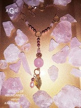 Wrists of Abundance - venus/your blessings beautifully dangle .Rose gold... - $50.00