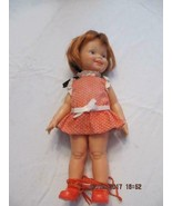 Vintage Ideal Crissy Doll growing Hair original Clothing Clogs Friend of... - $24.75